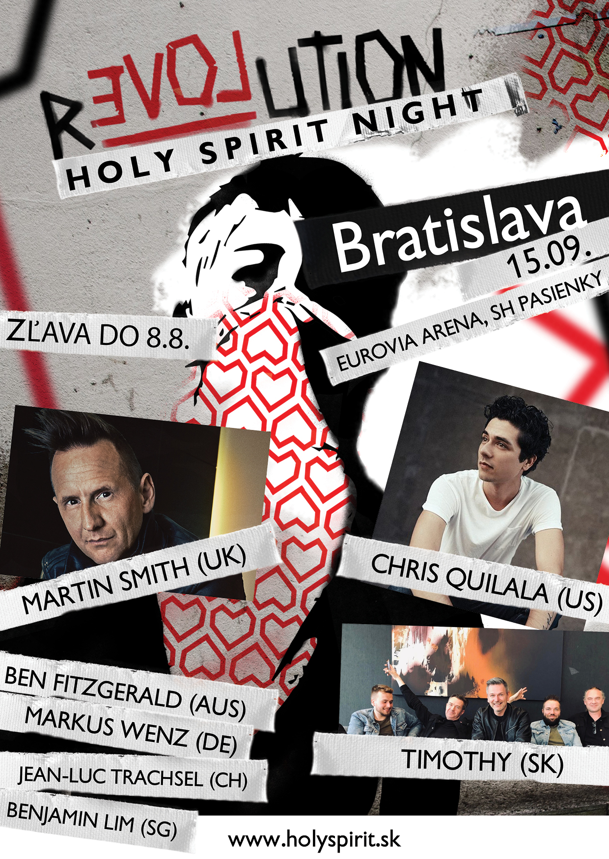 Holy Spirit Night Poster A6